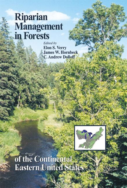 Riparian Management in Forests of the Continental Eastern United States: 1st Edition (Hardback) book cover