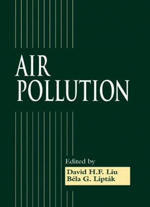 Air Pollution: 1st Edition (Hardback) book cover