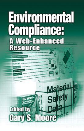 Environmental Compliance: A Web-Enhanced Resource, 1st Edition (Hardback) book cover