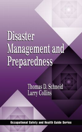 Disaster Management and Preparedness: 1st Edition (Hardback) book cover