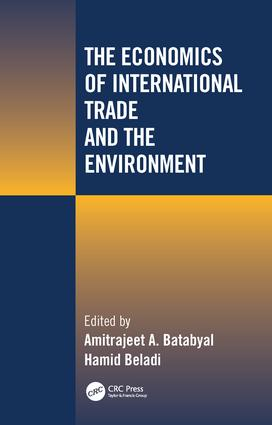 The Economics of International Trade and the Environment: 1st Edition (Hardback) book cover