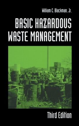 Basic Hazardous Waste Management: 3rd Edition (Hardback) book cover