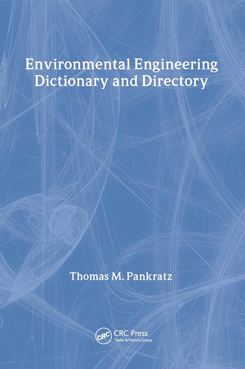 Z | Special Edition - Environmental Engineering Dictionary