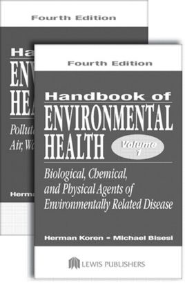 Handbook of Environmental Health, Two Volume Set: 4th Edition (Paperback) book cover