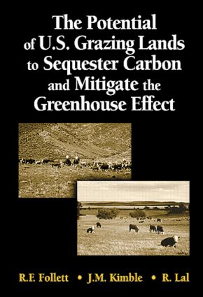 The Potential of U.S. Grazing Lands to Sequester Carbon and Mitigate the Greenhouse Effect: 1st Edition (Hardback) book cover