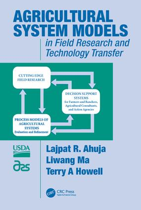 Agricultural System Models in Field Research and Technology Transfer: 1st Edition (Hardback) book cover