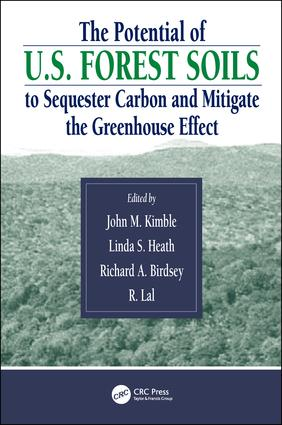 The Potential of U.S. Forest Soils to Sequester Carbon and Mitigate the Greenhouse Effect (Hardback) book cover