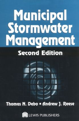 Municipal Stormwater Management, Second Edition: 2nd Edition (Hardback) book cover
