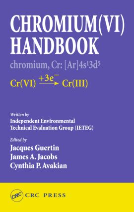 Chromium(VI) Handbook: 1st Edition (Hardback) book cover