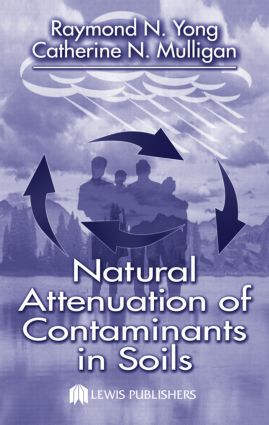 Natural Attenuation of Contaminants in Soils (Hardback) book cover