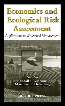 Economics and Ecological Risk Assessment: Applications to Watershed Management book cover