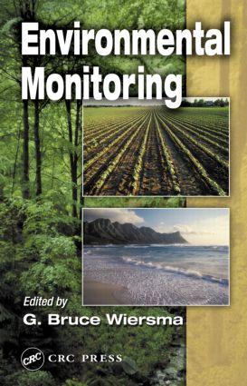 Environmental Monitoring: 1st Edition (Hardback) book cover