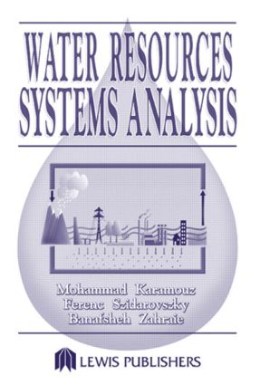 Water Resources Systems Analysis: 1st Edition (Hardback) book cover