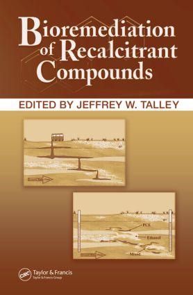 Bioremediation of Recalcitrant Compounds: 1st Edition (Hardback) book cover