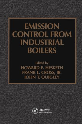 Emission Control from Industrial Boilers: 1st Edition (Hardback) book cover
