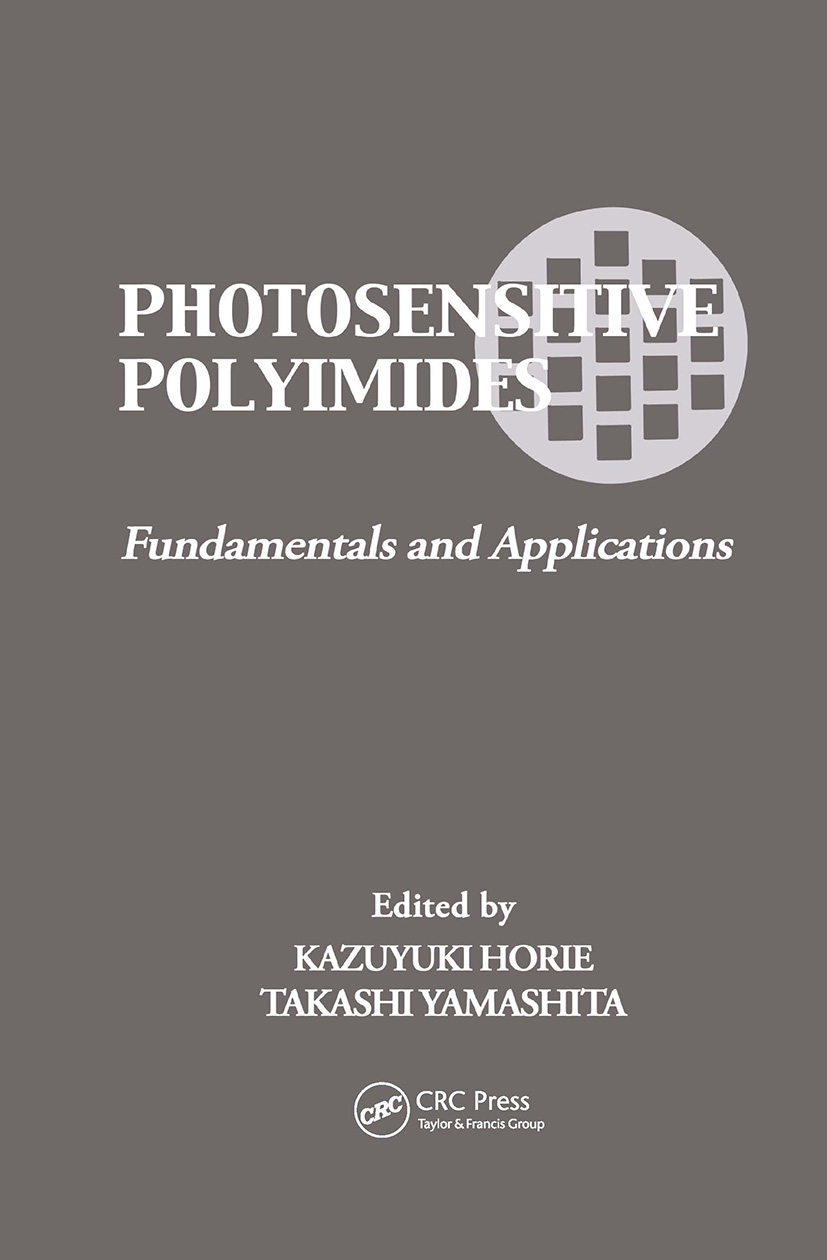 Photosensitive Polyimides: Fundamentals and Applications, 1st Edition (Hardback) book cover