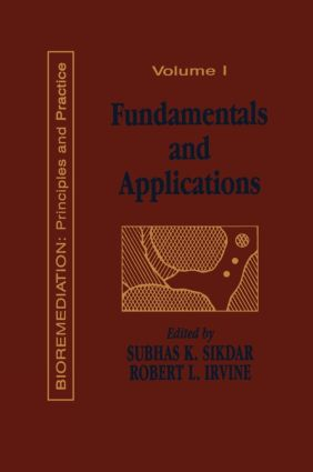 Fundamentals and Applications of Bioremediation: Principles, Volume I, 1st Edition (Hardback) book cover