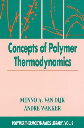 Concepts in Polymer Thermodynamics, Volume II: 1st Edition (Hardback) book cover