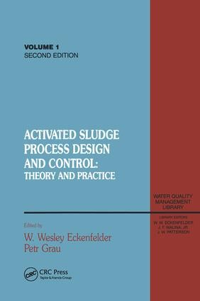 Activated Sludge: Process Design and Control, Second Edition, 1st Edition (Paperback) book cover