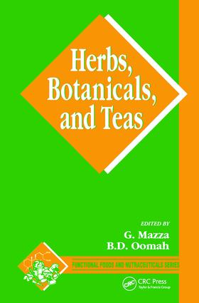 Herbs, Botanicals and Teas: 1st Edition (Hardback) book cover