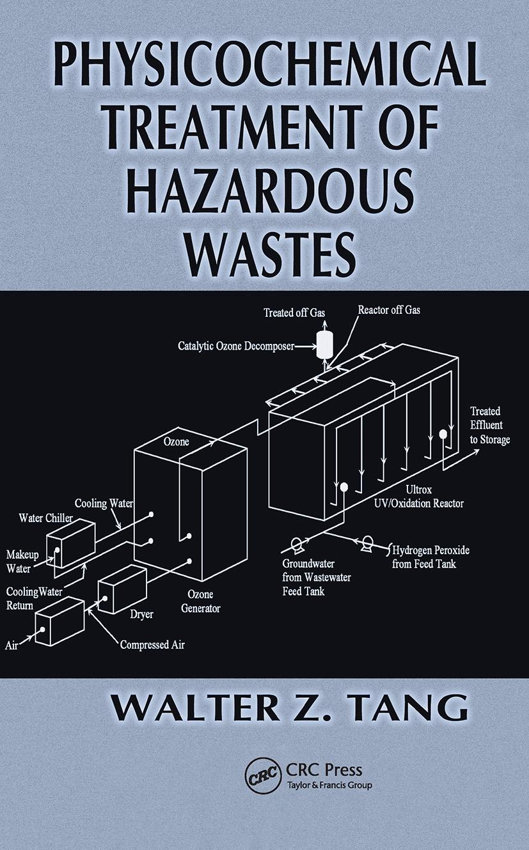 Physicochemical Treatment of Hazardous Wastes: 1st Edition (Hardback) book cover