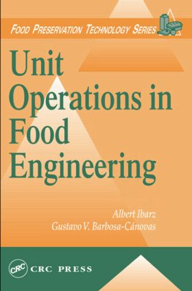 Unit Operations in Food Engineering book cover