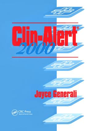 Clin-Alert 2000: 1st Edition (Hardback) book cover