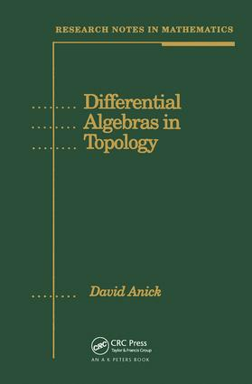 Differential Algebras in Topology: 1st Edition (Hardback) book cover