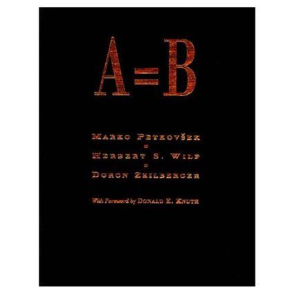 A = B: 1st Edition (Hardback) book cover