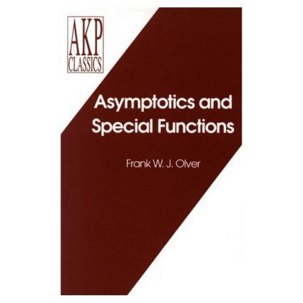 Asymptotics and Special Functions: 1st Edition (Hardback) book cover