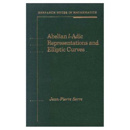 Abelian l-Adic Representations and Elliptic Curves book cover