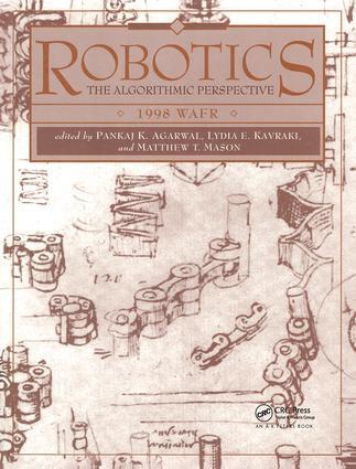 Robotics: The Algorithmic Perspective: WAFR 1998, 1st Edition (Hardback) book cover