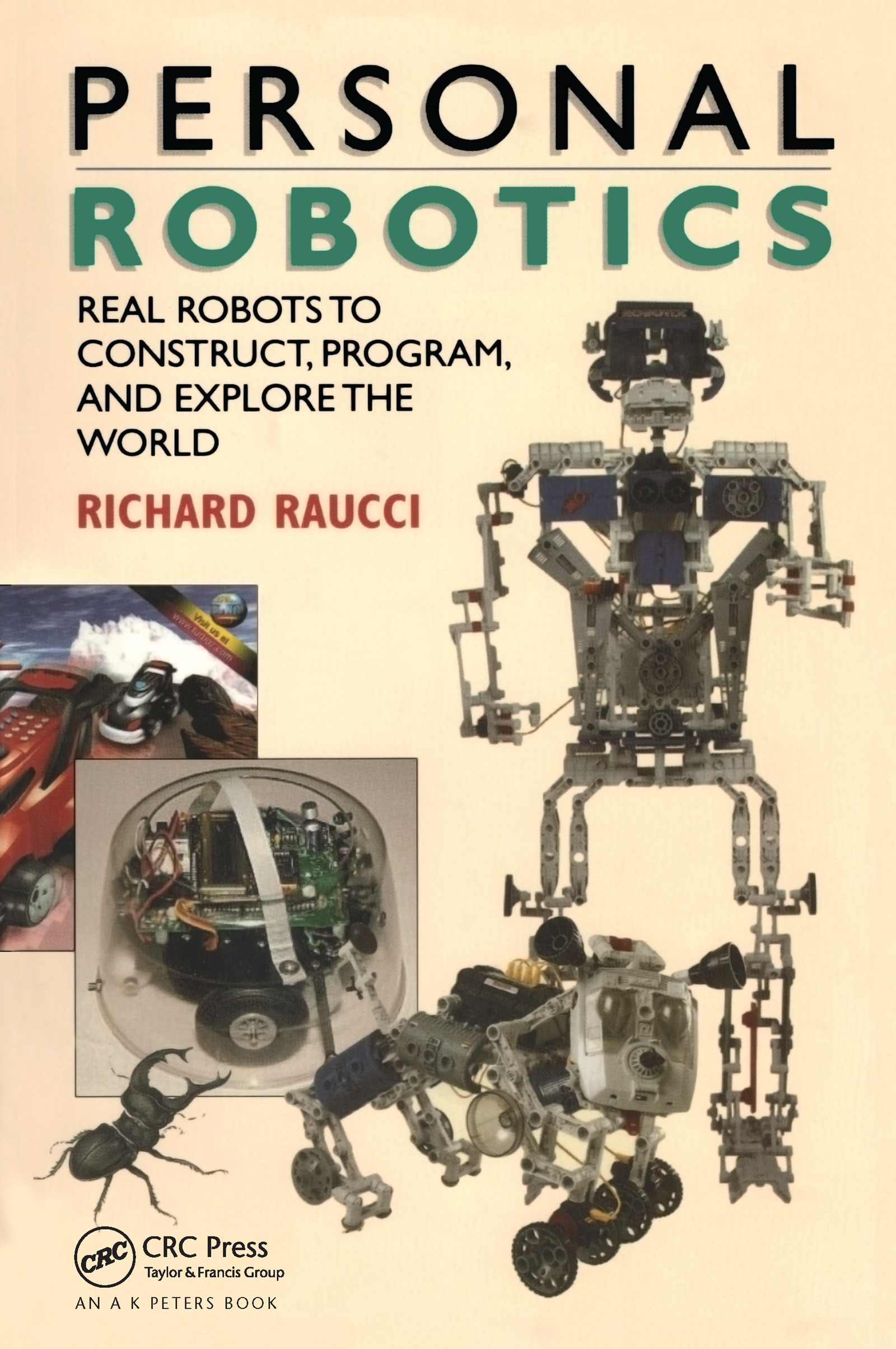Personal Robotics: Real Robots to Construct, Program, and Explore the World, 1st Edition (Paperback) book cover