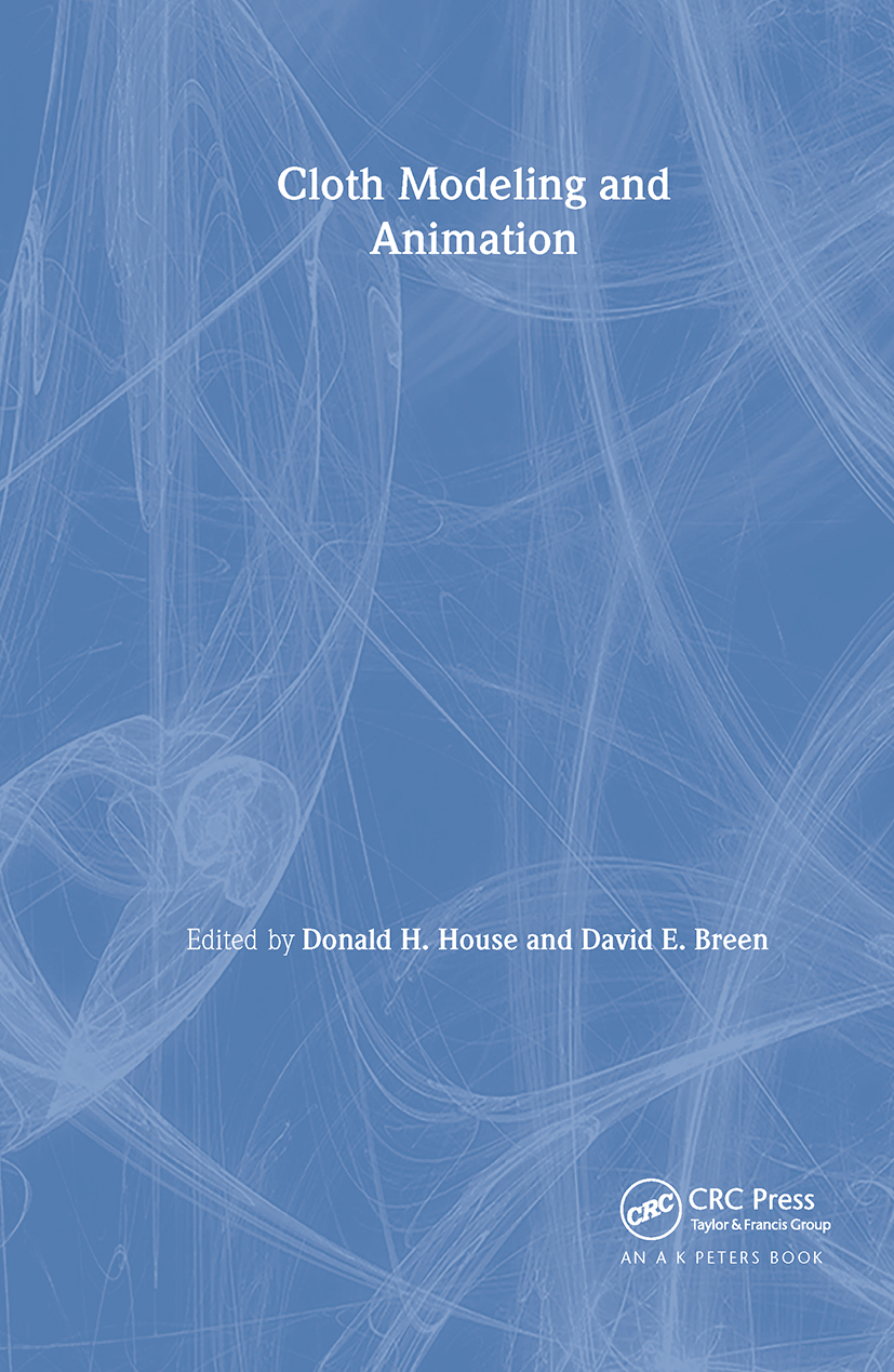 Cloth Modeling and Animation: 1st Edition (Hardback) book cover
