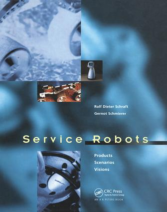 Service Robots: 1st Edition (Hardback) book cover