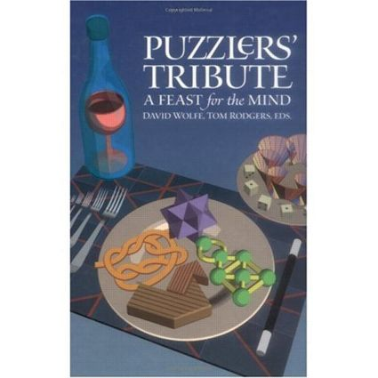 Puzzlers' Tribute: A Feast for the Mind, 1st Edition (Hardback) book cover
