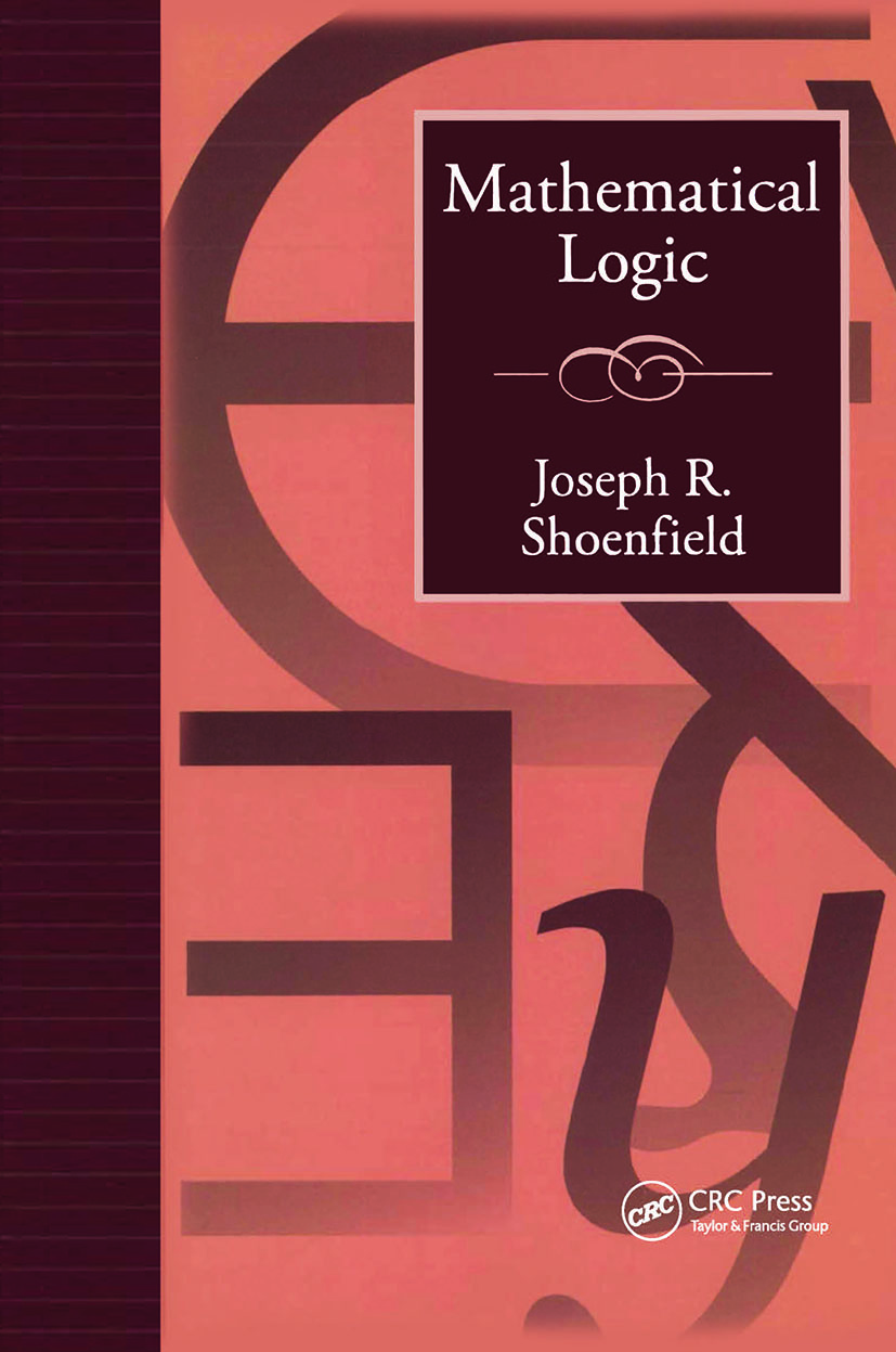 Mathematical Logic: 1st Edition (Paperback) book cover