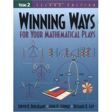 Winning Ways for Your Mathematical Plays, Volume 2: 2nd Edition (Paperback) book cover