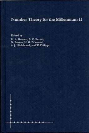Number Theory for the Millennium II: 1st Edition (Hardback) book cover
