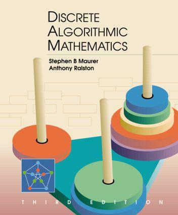 Discrete Algorithmic Mathematics: 3rd Edition (Hardback) book cover