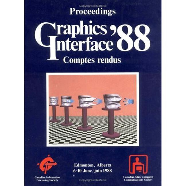 Graphics Interface 1988: 1st Edition (Paperback) book cover
