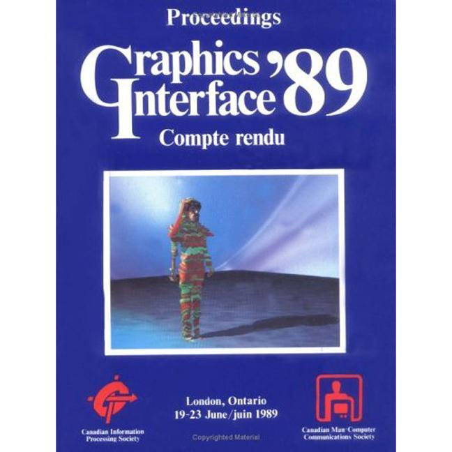 Graphics Interface 1989: 2nd Edition (Paperback) book cover