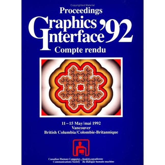 Graphics Interface 1992: 4th Edition (Paperback) book cover