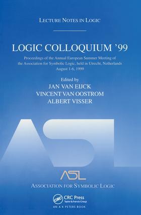 Logic Colloquium '99
