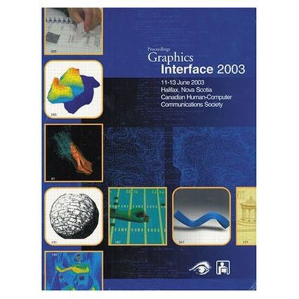 Graphics Interface 2003: 10th Edition (Paperback) book cover