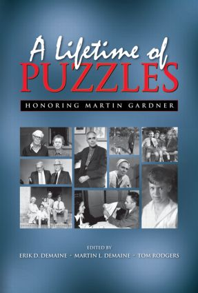 A Lifetime of Puzzles (Hardback) book cover