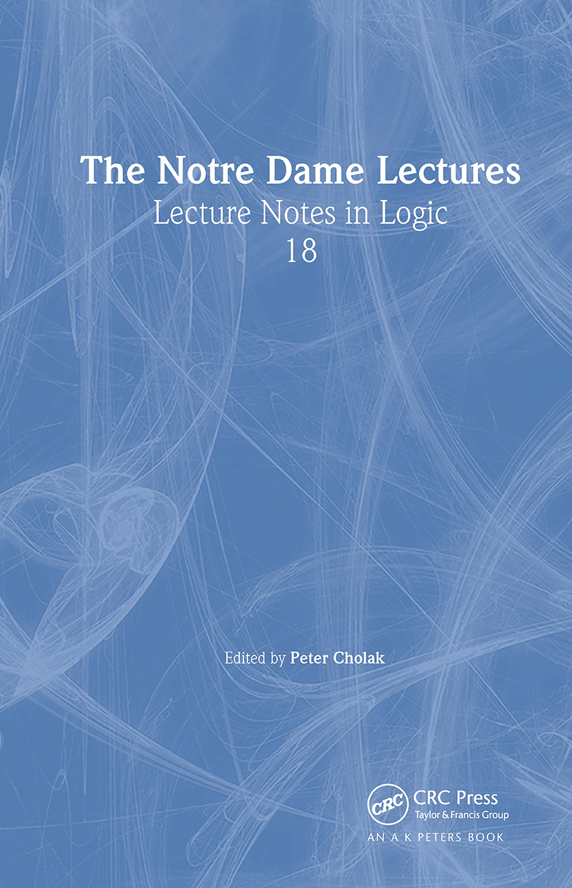 The Notre Dame Lectures