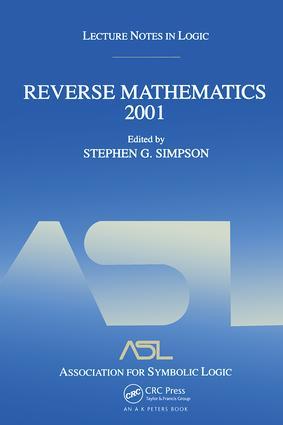 Reverse Mathematics 2001