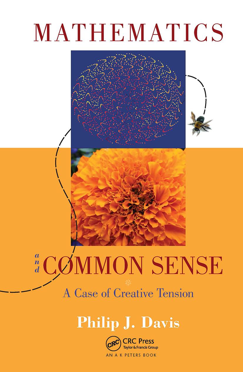 Mathematics & Common Sense: A Case of Creative Tension, 1st Edition (Hardback) book cover