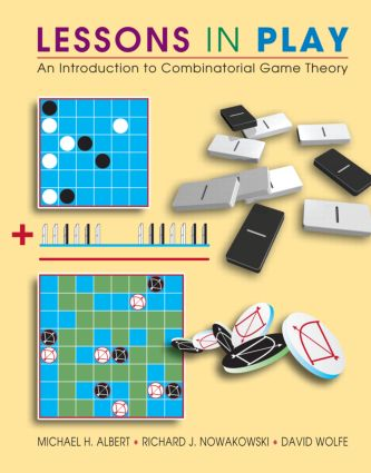 Lessons in Play: An Introduction to Combinatorial Game Theory, 1st Edition (Hardback) book cover
